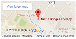 Austin Bridges Therapy location map